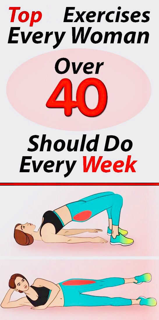 Nine Daily Exercises For Women Over 40 My Amazing Stuff Daily Workout Exercise Fitness Tips