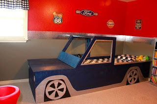 Vintage ford truck themed bedroom for 3 year old boy the - Bedroom ideas for 3 year old boy ...