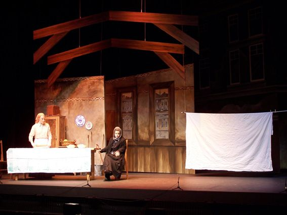 Pin By Chriss Golden On Adventures With Paint Fiddler On The Roof Scenic Design Fiddler