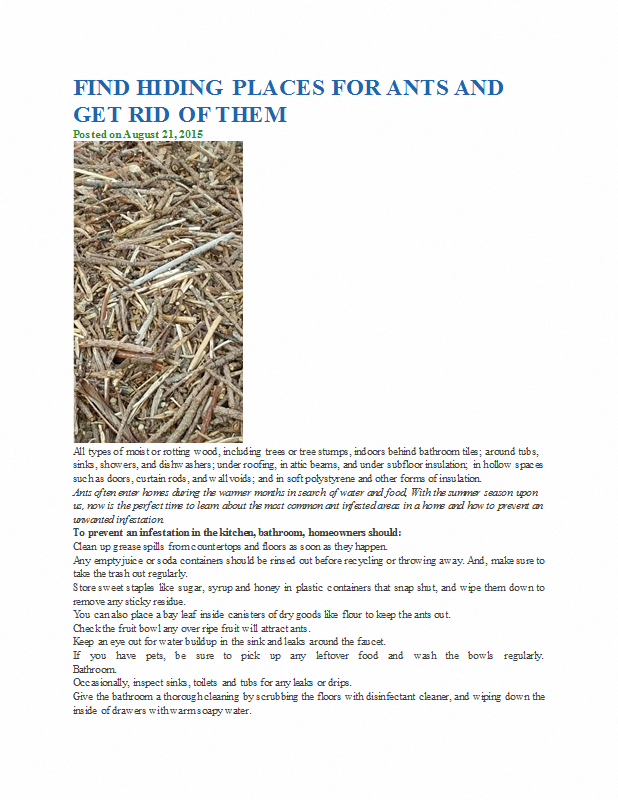 Pin on Eco friendly pest control