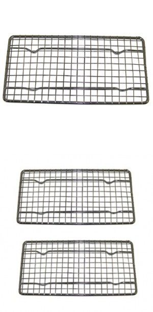Heavy Duty Cooling Rack Cooling Racks Wire Pan Grade Commercial Grade Oven Safe Chrome 4 X 8 Inches Set Of 12