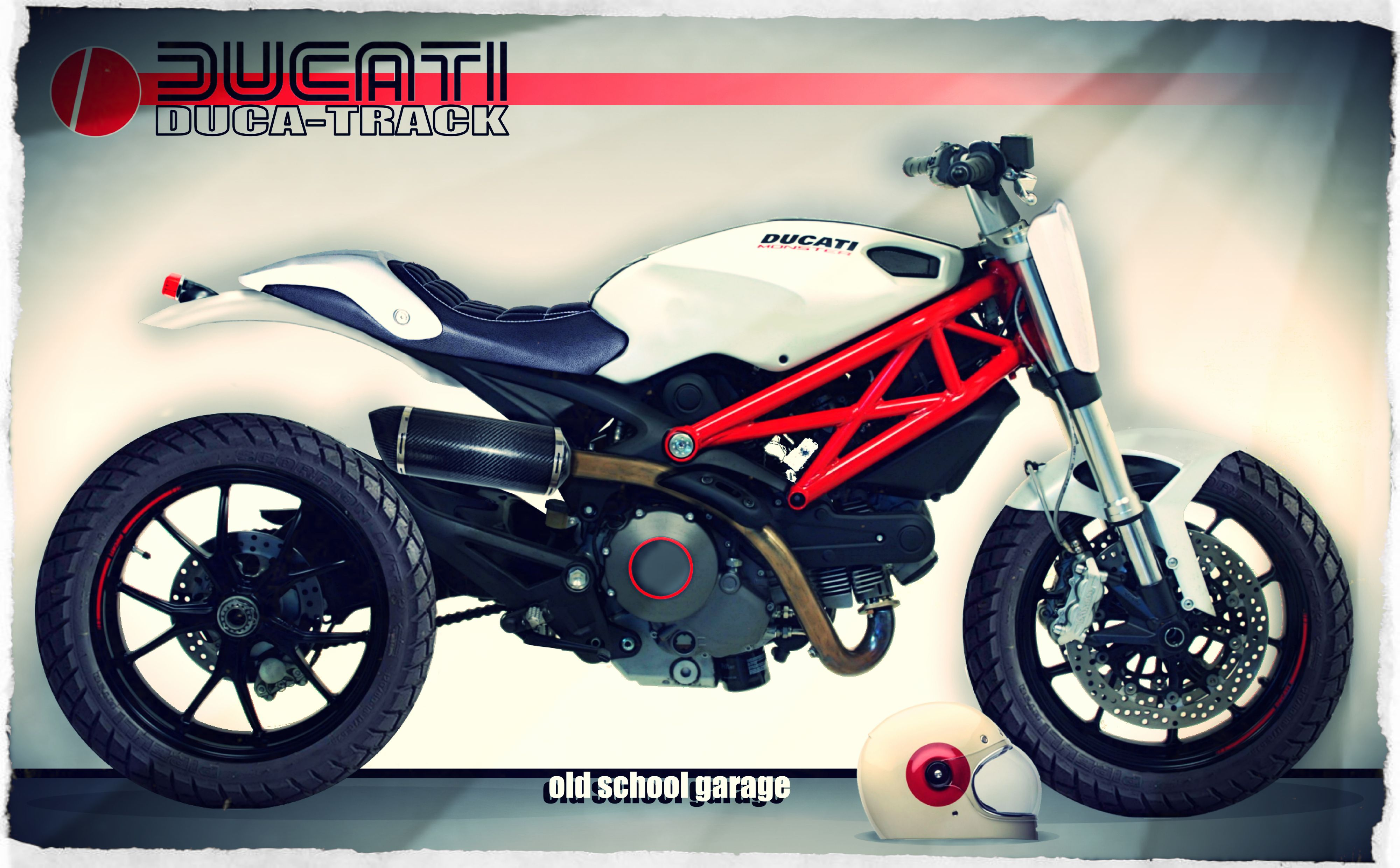 DUCATI MONSTER TRACKER SPECIAL
