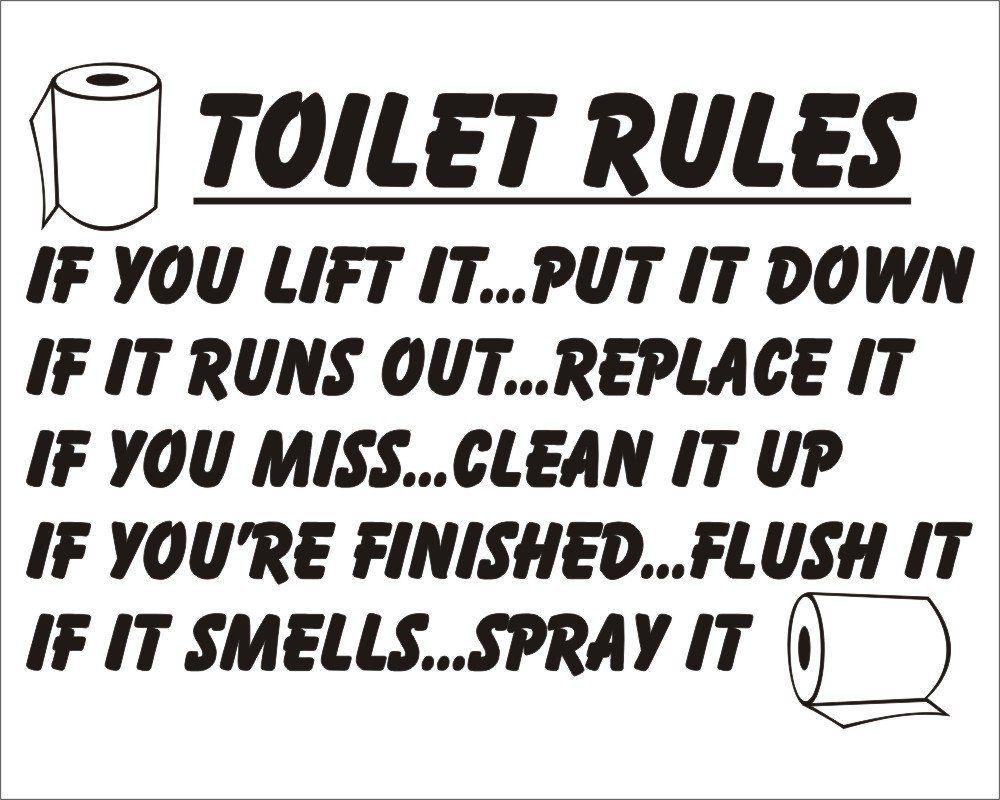 Poem Stencil Google Search Toilet Rules Bathroom Quotes Funny Bathroom Rules Pri