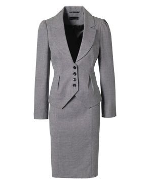 47e4d93dc75 Work Suits for Women   Skirt suits are back! 6 of the best for work ::  allaboutyou.com