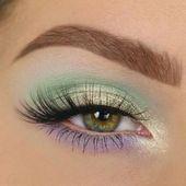 41 Perfect Green Eye Makeup Ideas  Beauty Home –  41 Perfect Green Eye Makeup Id…