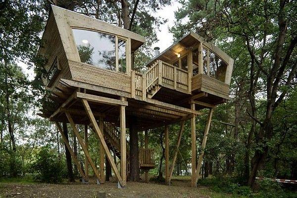 Baumraum   Pfadfinder Baumhaus   Urlaubs - Da Möche Ich Mal Hin ... Das Magische Baumhaus Von Baumraum