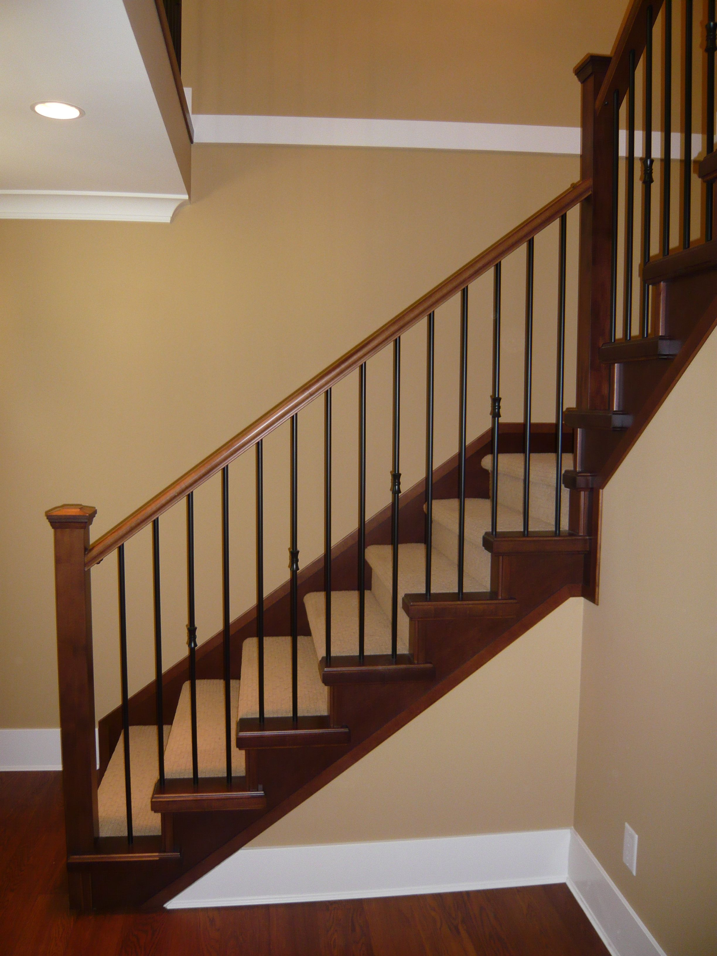 STAIR RAILING | Scotwend Homes Ltd. » Blog Archive » Railings And Stair Caps