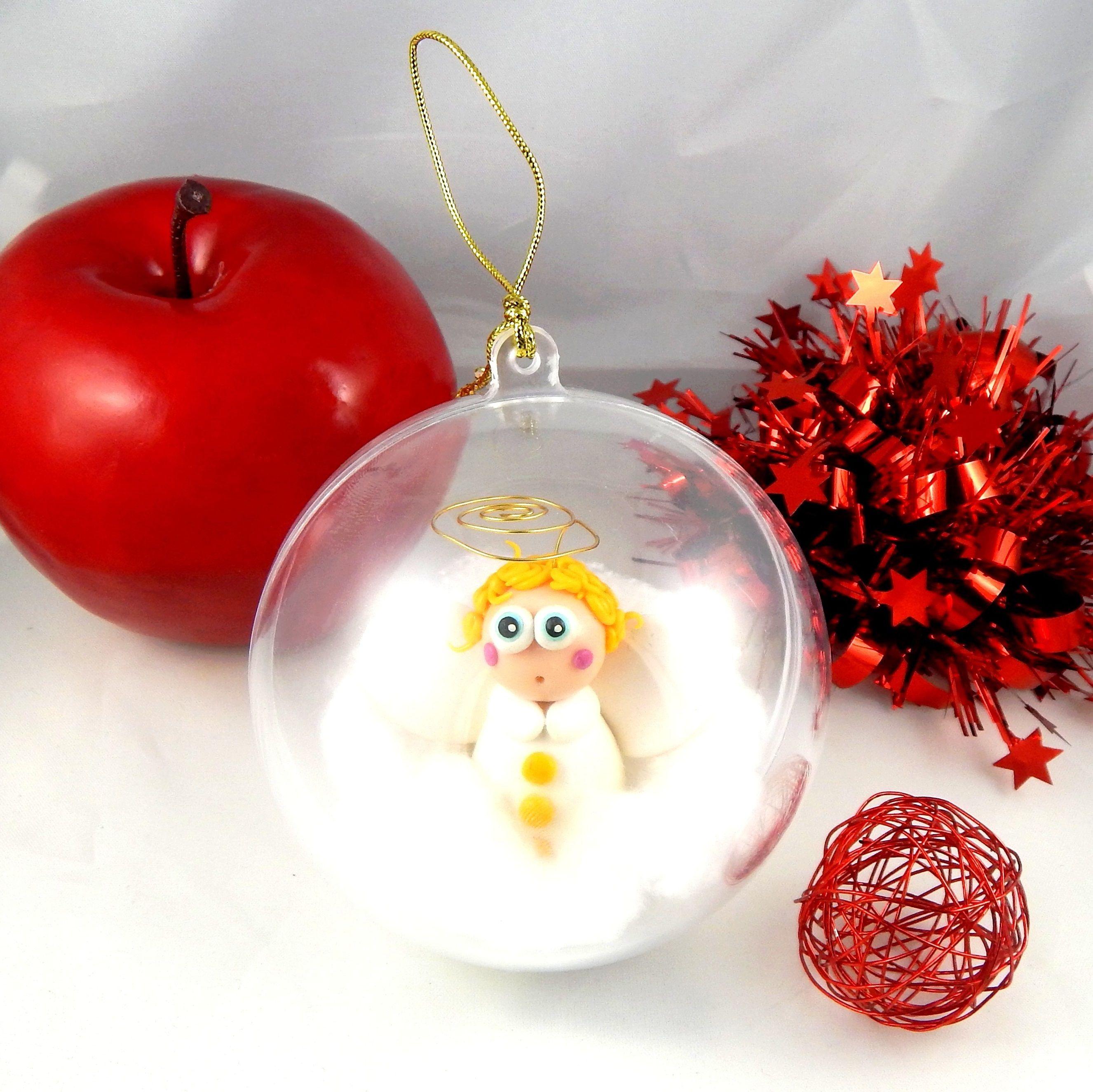 Boule De Noel Transparente A Decorer boule de noël transparente en plastique pour décorer le