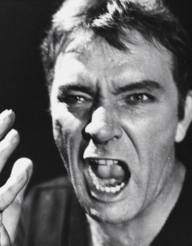 Richard Burton in the 1964 Hamlet on Broadway, directed by John Gielgud