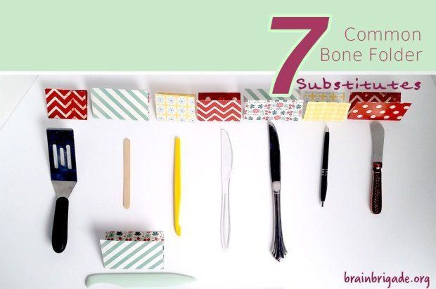 7 Common Bone Folder Substitutes Bone Folder Folders Paper Crafts Diy