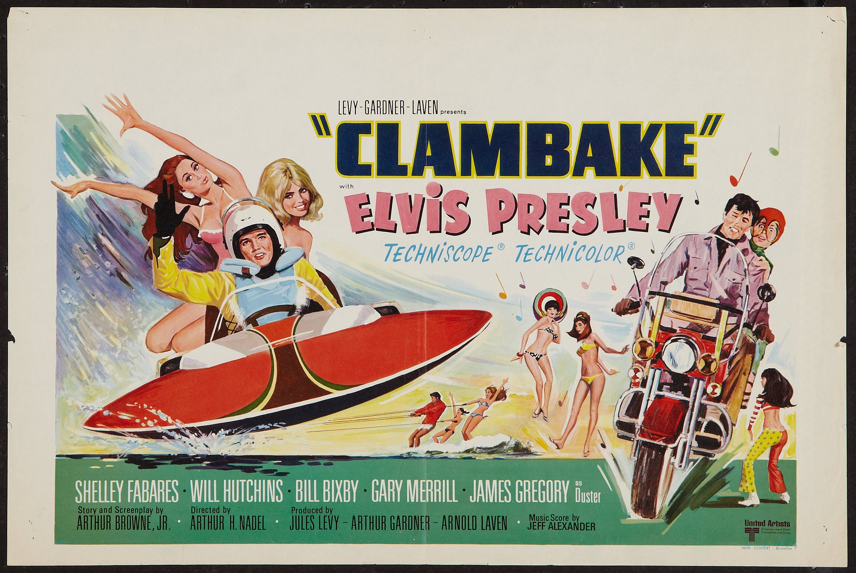 Clambake 1967 stars elvis presley shelley fabares