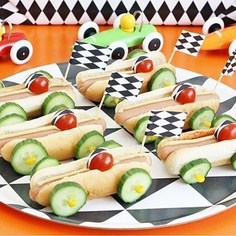 Kindergeburtstag feiern Ideen zu Essen (mit Obst), Spiele, Basteln, Kuchen, Mitg...