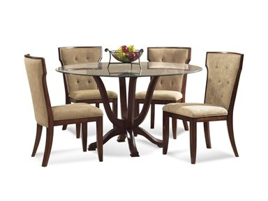 Shop For Bassett Mirror Company Serenity Casual Dining Set And Other Room Tables At Elite Interiors In Myrtle Beach SC
