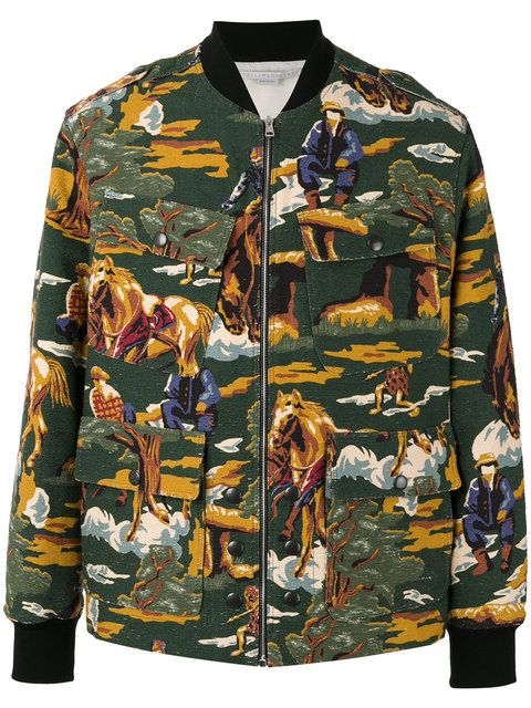4eebf0e45 STELLA MCCARTNEY Horse Print Bomber Jacket. #stellamccartney #cloth #jacket