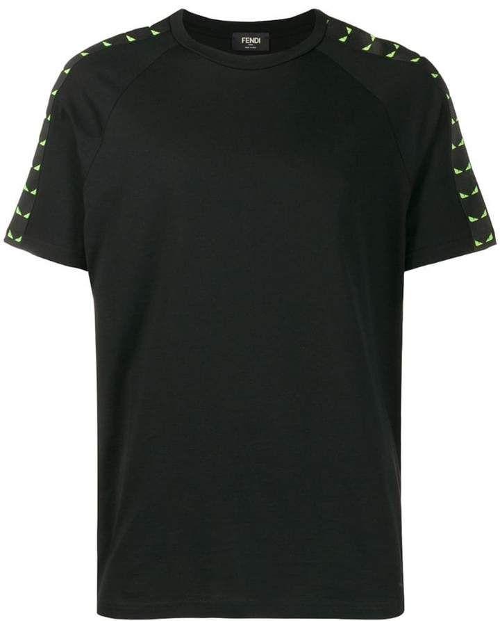 Fendi Bag Bugs motif Tshirt 450  Buy Online  Mobile Friendly Fast Delivery Price Fendi Bag Bugs motif Tshirt