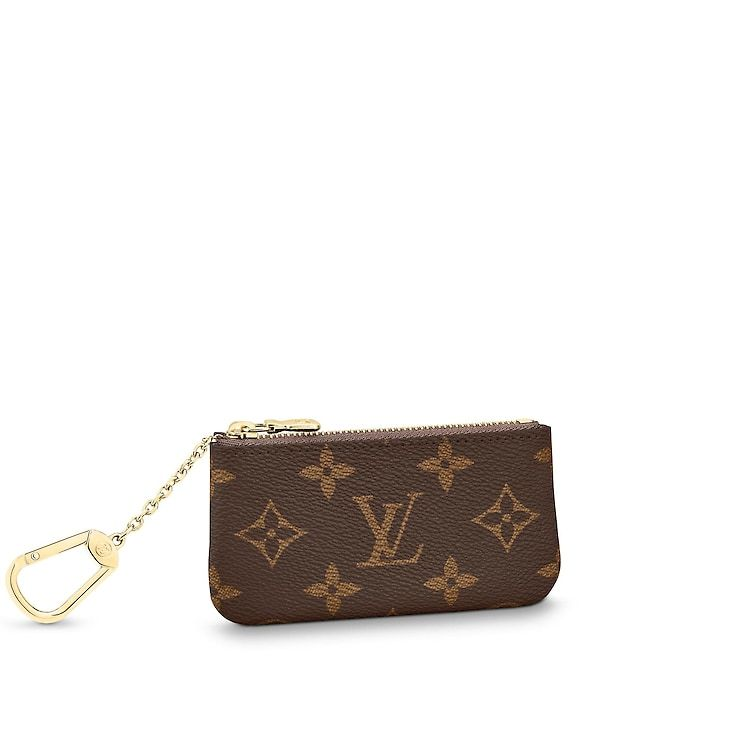 67e4c95b2fa7 View 1 - Monogram SMALL LEATHER GOODS KEY AND CARD HOLDERS Key Pouch ...