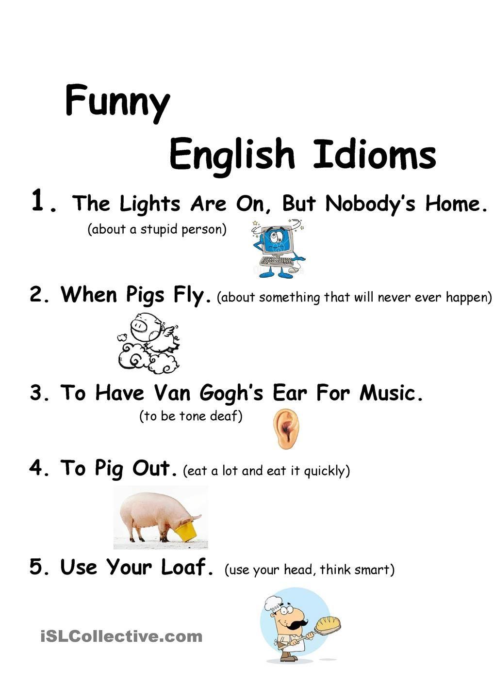 English idioms - Google 搜尋   English Idioms   Pinterest ...