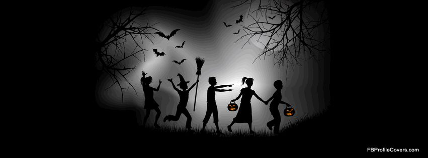 Fall Halloween Facebook Covers