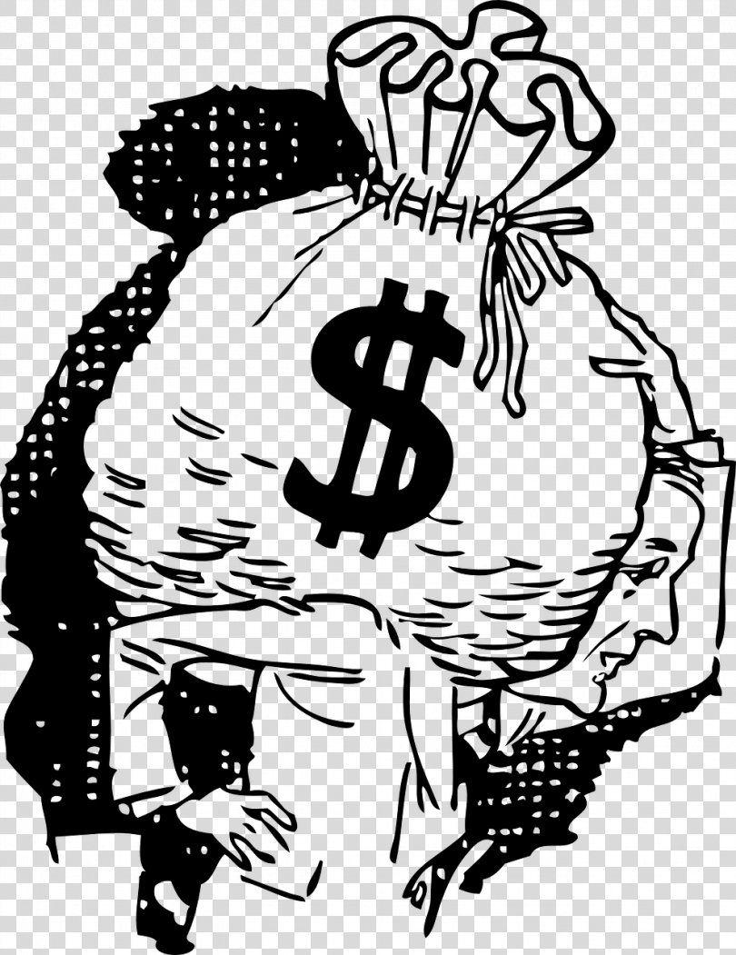 Money Bag Clip Art Money Clipart Png Money Bag Art Artwork Bag Black Money Clipart Money Bag Clip Art