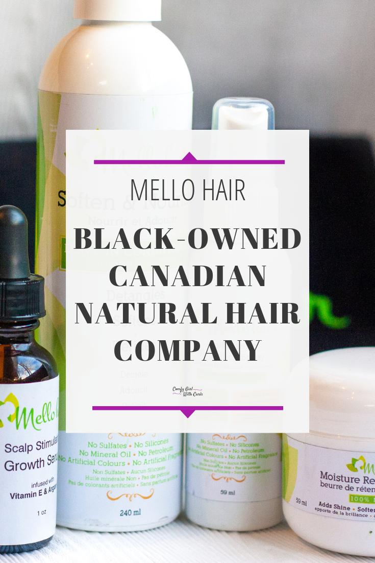 Mello Hair Shampoo and Conditioner Review Natural hair