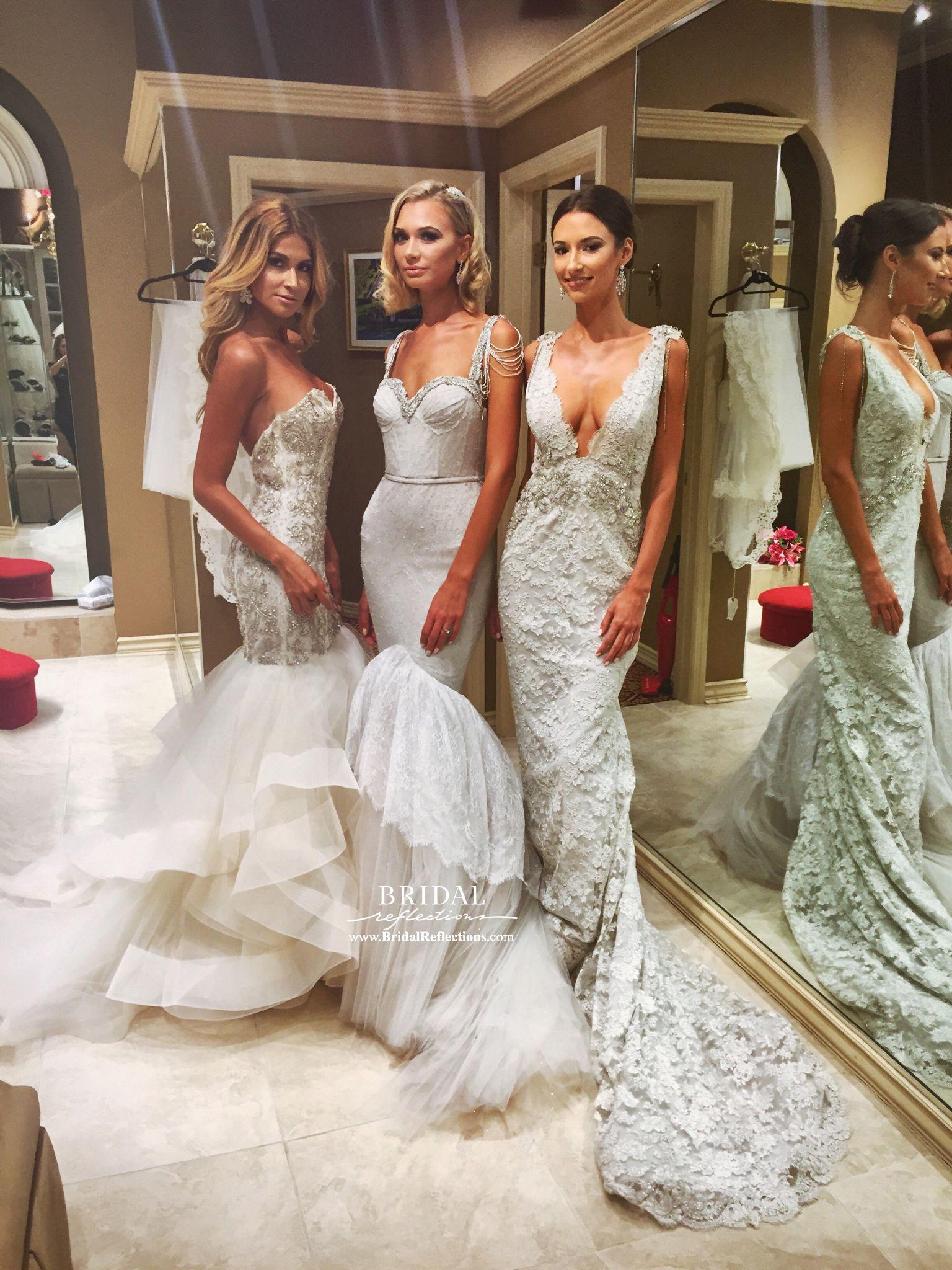 Bridal Reflections Lazaro Fashion Show