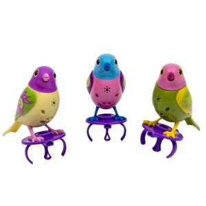 Digibirds Instant Choir 3 Pack From Spin Master Little Live Pets Pet Bird Cage Hanging Bird Cage