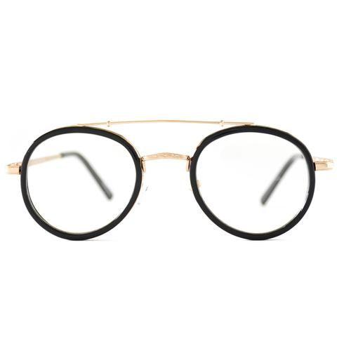 b172e37dfda Samuel Oval Nose Bridge Wire Clear Glasses
