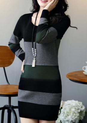 Light Sweater Dress