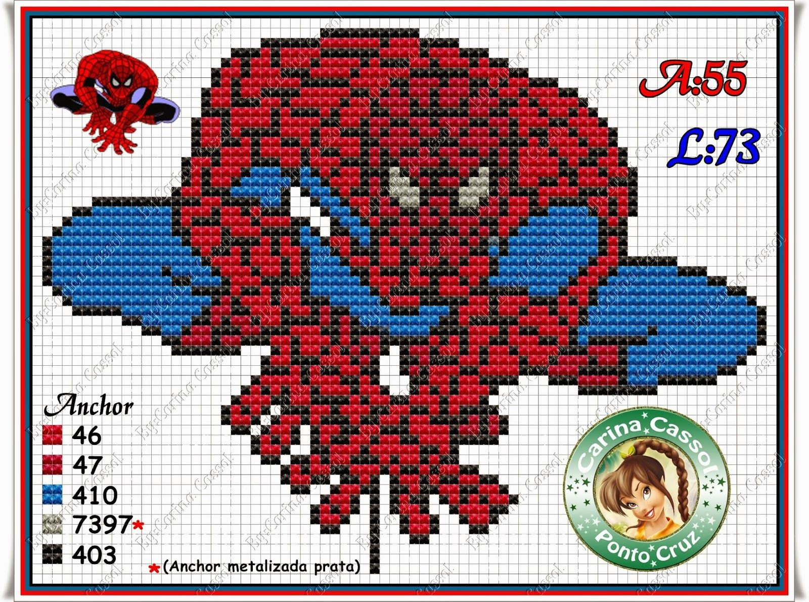 Hama Beads Spiderman: Spiderman Perler Bead Pattern