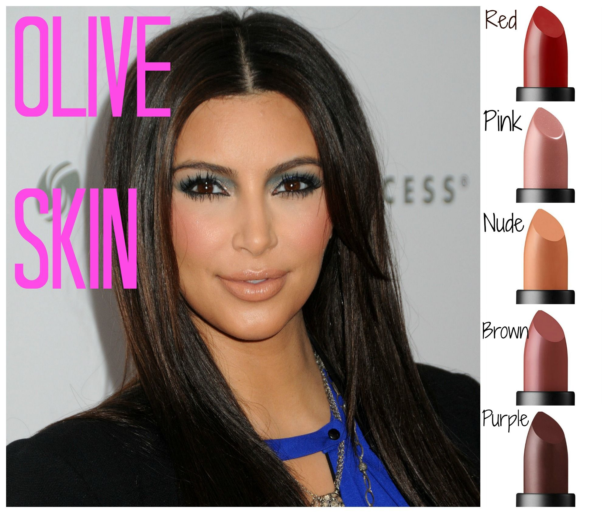 Best Lipstick Color For Olive Skin Tone Shades0012
