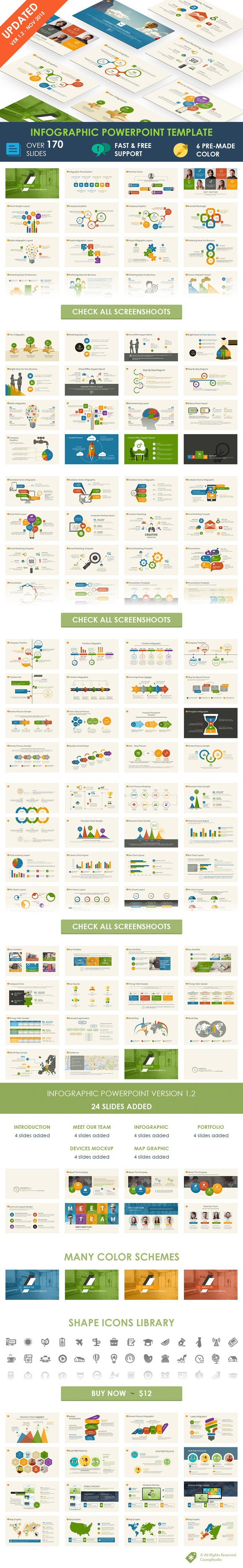 Infographic Powerpoint Template Business Infographic