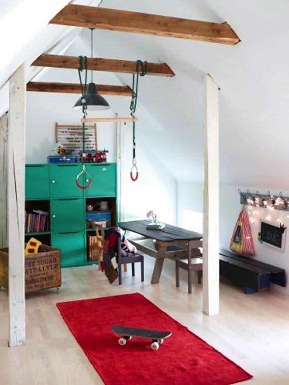 Indoor Hanging Rings Indoor Playroom Room