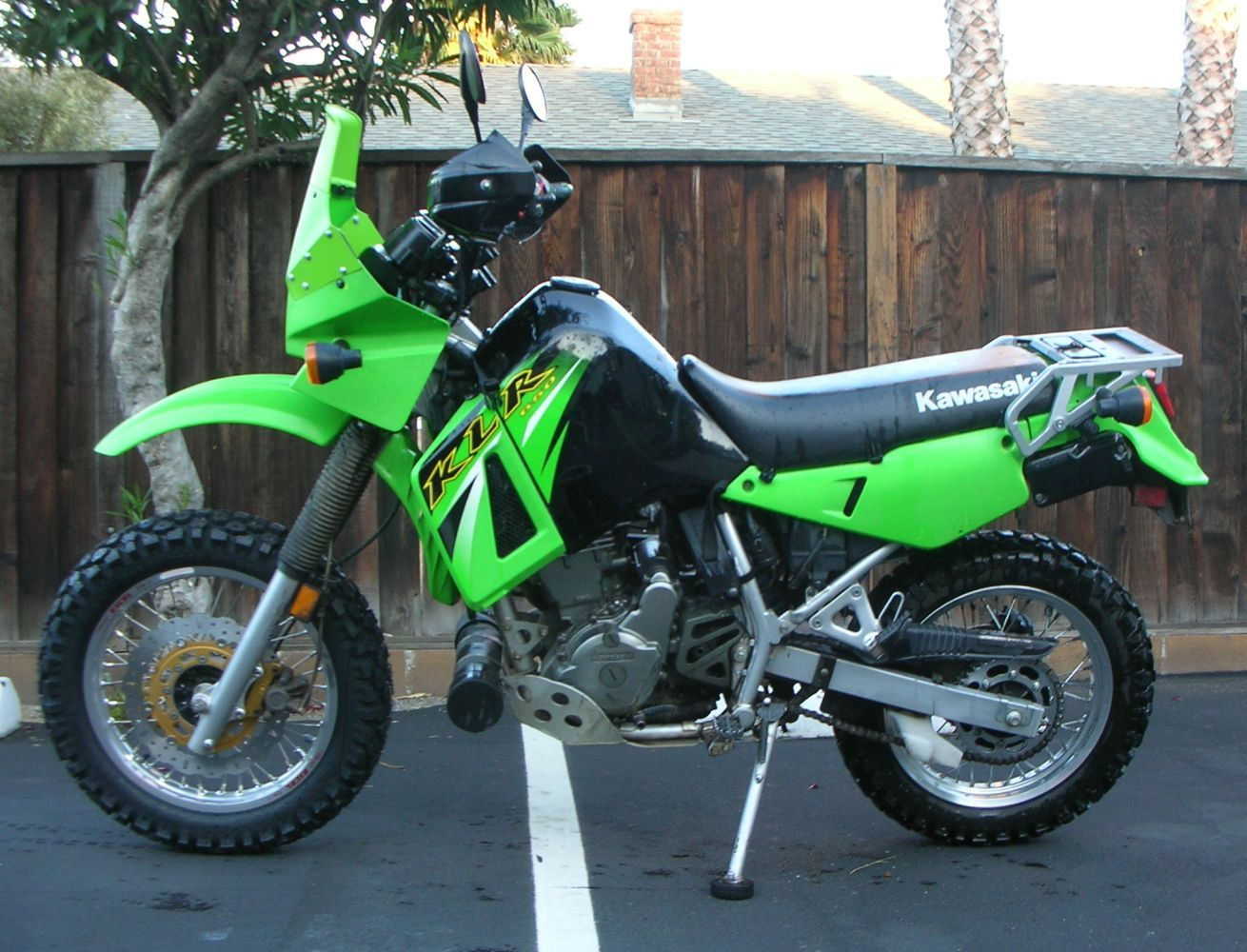 Wheatwhacker Fairing Mod on a KLR650 | Motorcycles/Travel