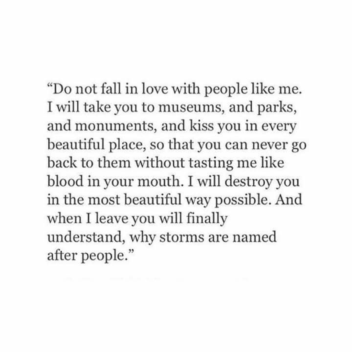 If You Fall In Love      | It's Just Who I Am