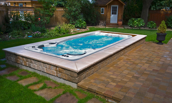 Hydropool Self Cleaning 17' FX Swim Spa www