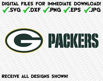 Green Bay Packers Logo In 5 File Formats Svg Dxf Png Eps Jpg Download Instantly Image Vector Clipart F Green Bay Packers Logo Green Bay Packers Packers