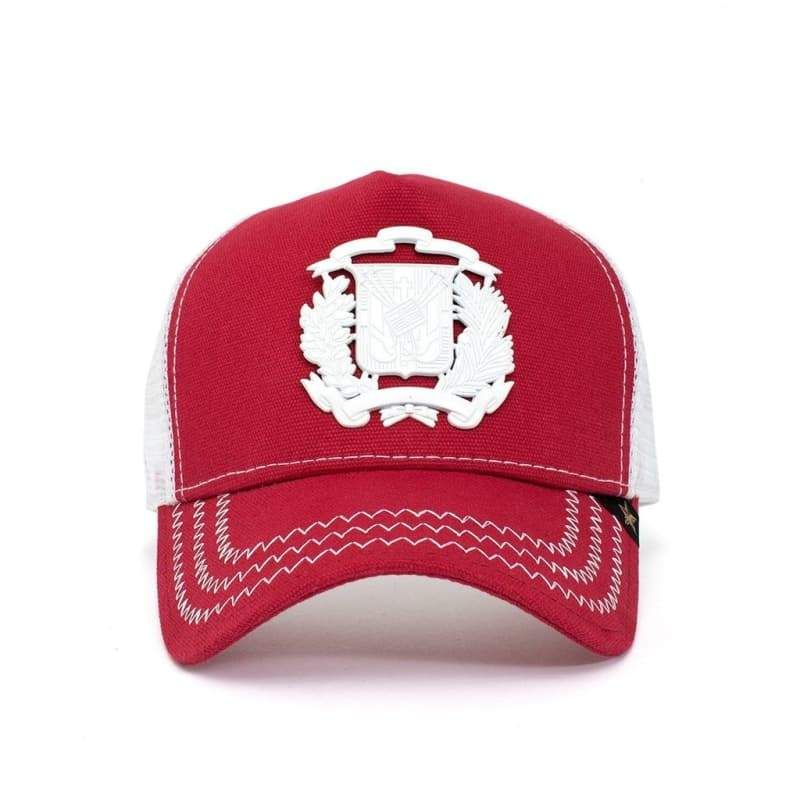 d41cd8b90d7c24 This hat will fill up all your pride of being Dominican, but adjustable for  being worn for anyone. Steel/Metal shield of the Dominican flag sewn in the  ...