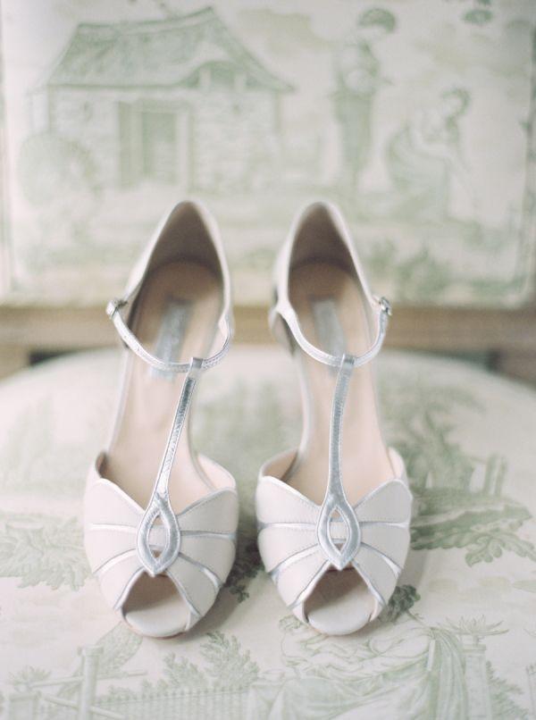 BHLDN Shoes Silver WeddingsRetro
