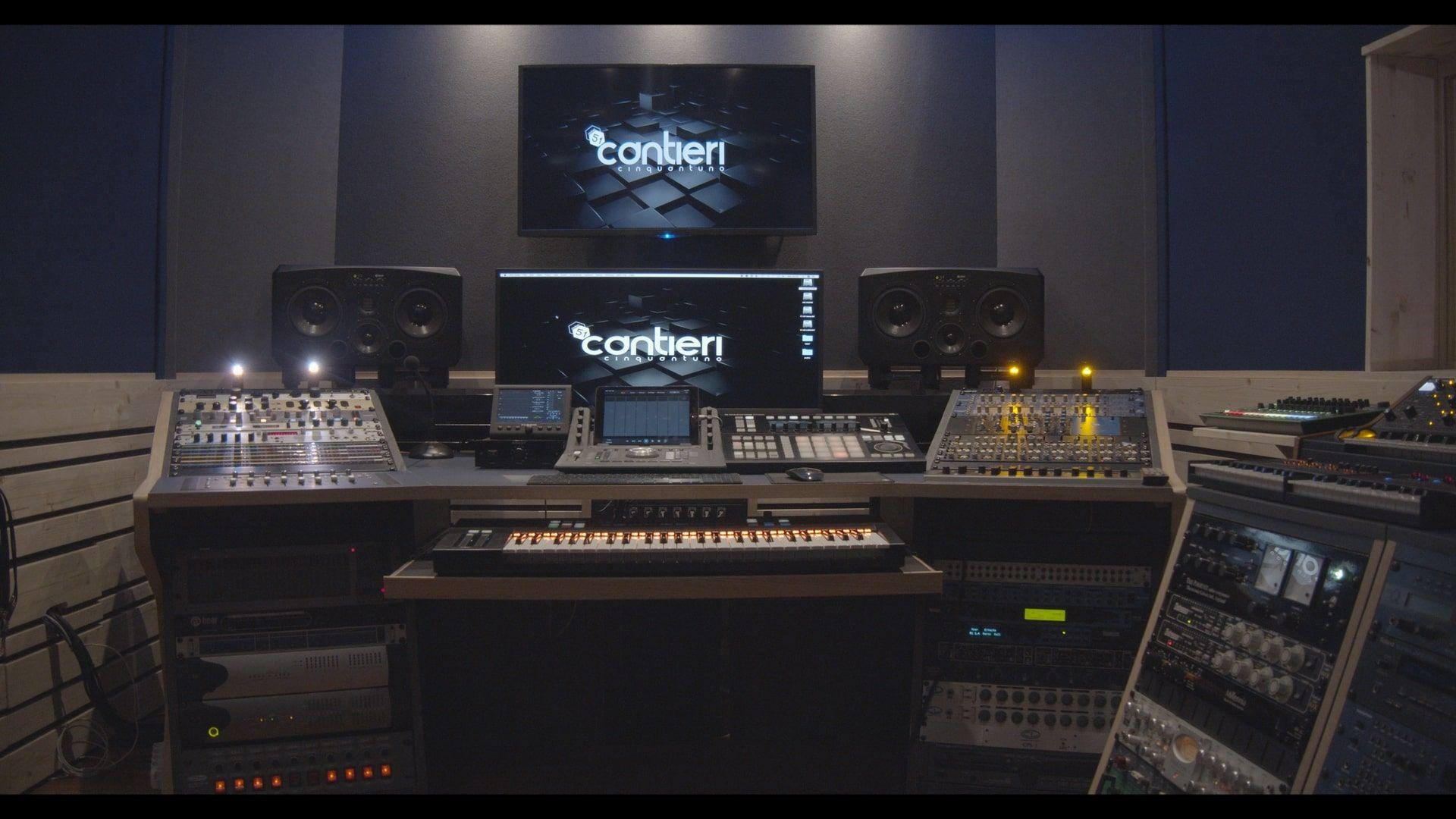 Trattamento acustico custom Studio di registrazione