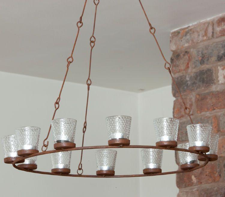 Tea light chandelier ranch inspiration pinterest chandeliers tea light chandelier mozeypictures Gallery