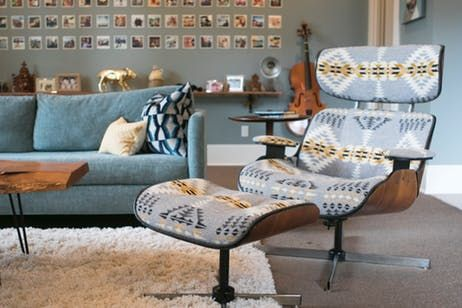 """Lisa and Paul blend objects from multiple decades to give their home a layered and organic feel. """"We didn't want our rooms looking like they belonged in a catalog."""""""