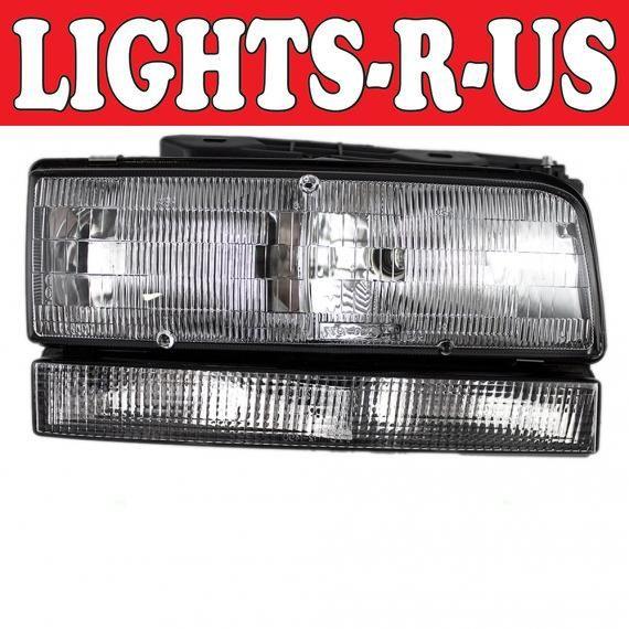 Lights R Us Buick Lesabre Headlight With Black Trim Rh Right Passenger 1992 1993 1994 1995 1996 92 93 94 95 96 Buick Lesabre Buick Black Trim