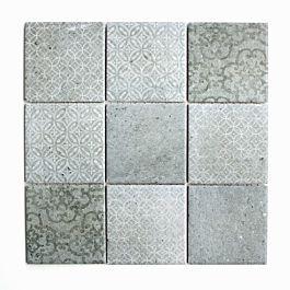 Mosaik Shabby Chic Gra 30x30 Cm I 2020 Med Billeder Mosaikfliser Kokken Flise Fliser