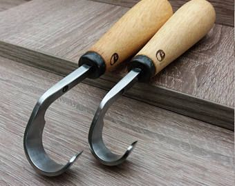 Spoon carving knife. hand forged. scorp tool. woodlike in 2019
