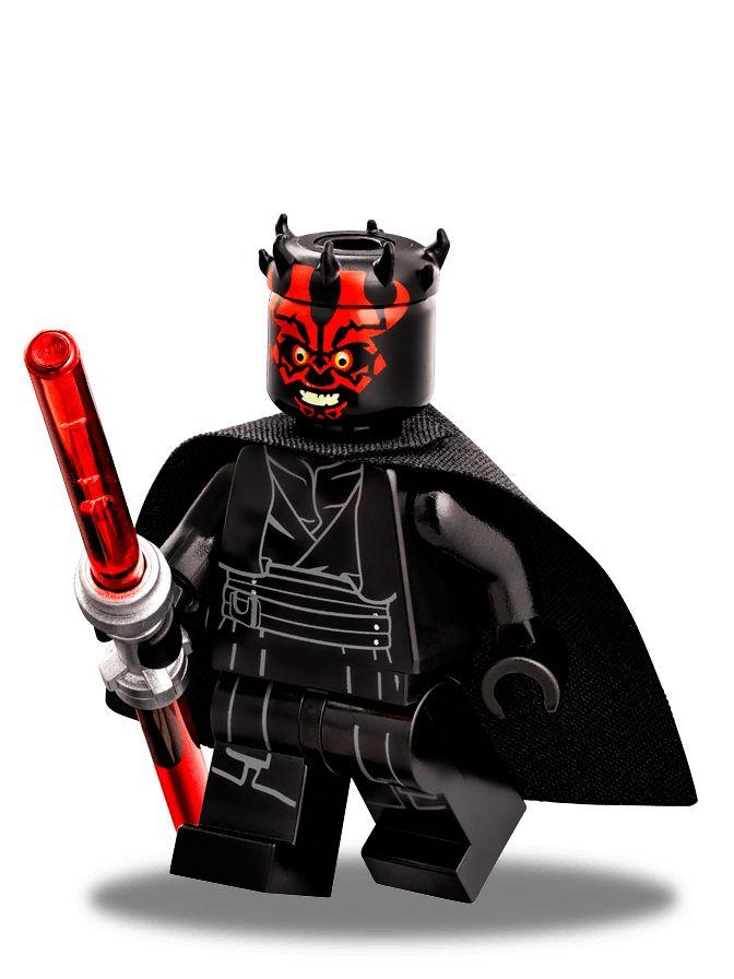 Lego Star Wars Black Hood Darth Maul Headgear NEW