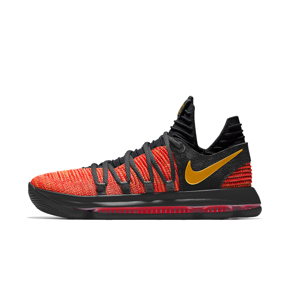 Nike Zoom KDX iD Men's Basketball Shoe Size 13.5 (Black)