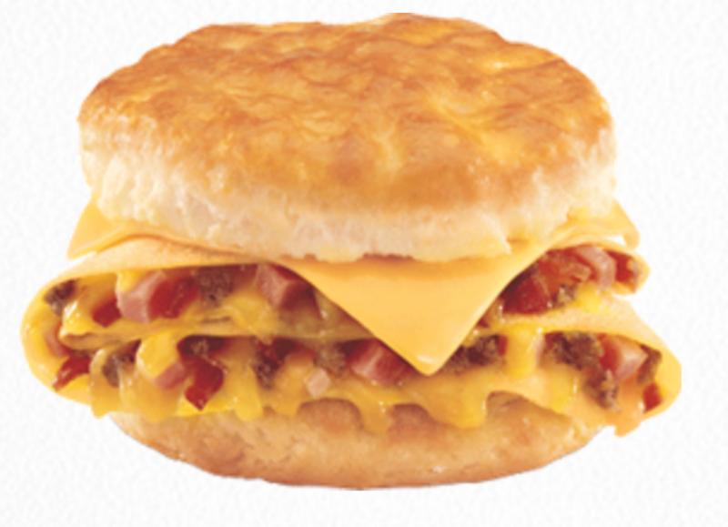 Loaded Omelet Breakfast Sandwich - Hardee's