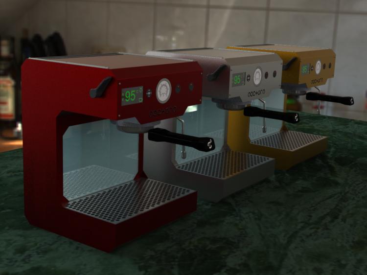 ZPM Espresso - the open source coffee maker - Open-Designism