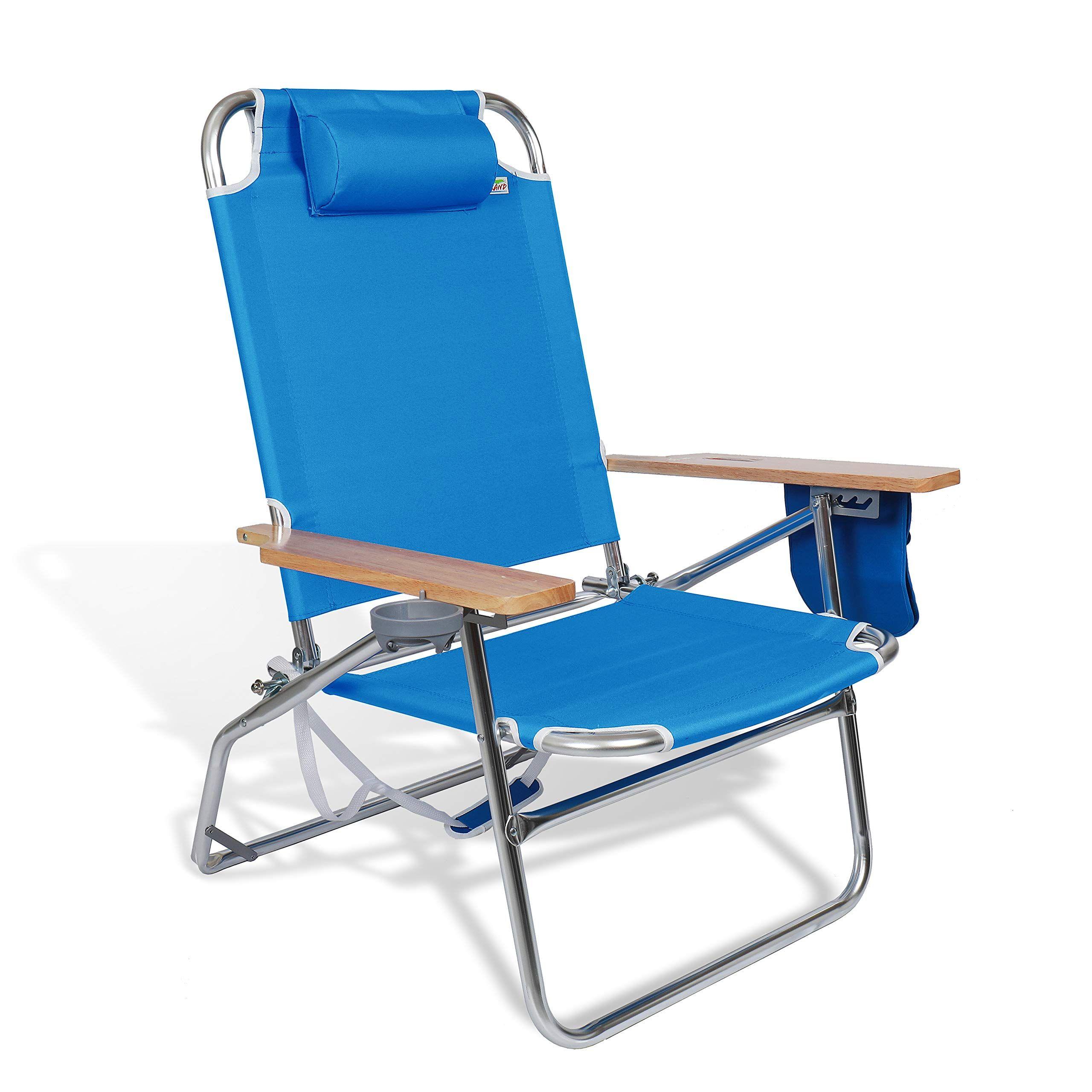 690grand High Capacity Beach Jumbo Chair 500lbs Folding Seat Big And Tall Outdoor Camping Storage Pouch And Cup Holder Outdoor Chairs Outdoor Outdoor Storage