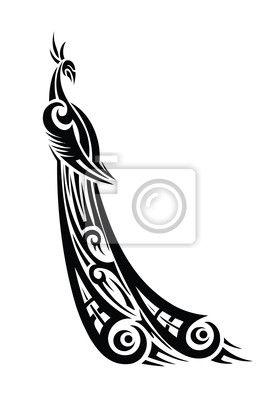 Peacock Tribal Tattoo Tribal Tattoos Tattoos Tribal